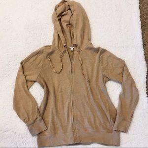 J. Crew Full Zip Hoodie Sweatshirt Sweater S